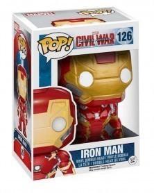 Funko POP Marvel - Captain America: Civil War - Iron Man, caixa