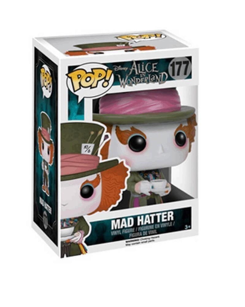 Funko POP Disney - Alice in Wonderland - Mad Hatter, caixa