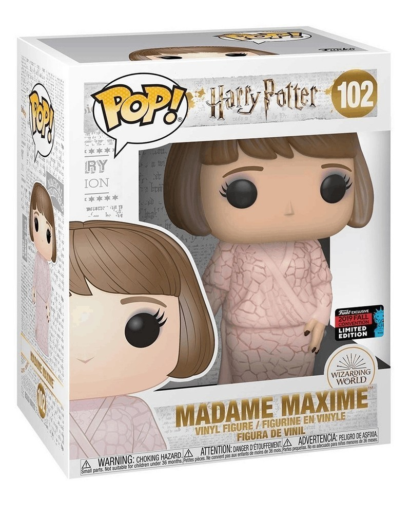 Funko POP Harry Potter - Madame Maxime (Exclusive, 15cm), caixa