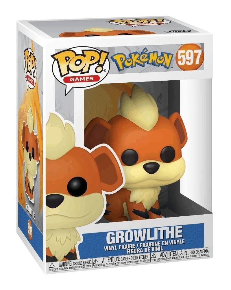 Funko POP Games - Pokémon - Growlithe, caixa
