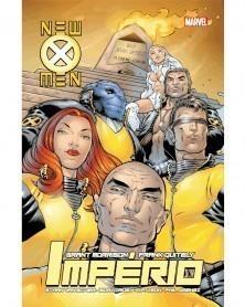 New X-Men Vol.2: Império, de Grant Morrison (Ed.Portuguesa, capa dura), capa