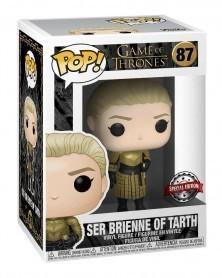 Funko POP Game of Thrones - Ser Brienne of Tarth (Special Edition), caixa