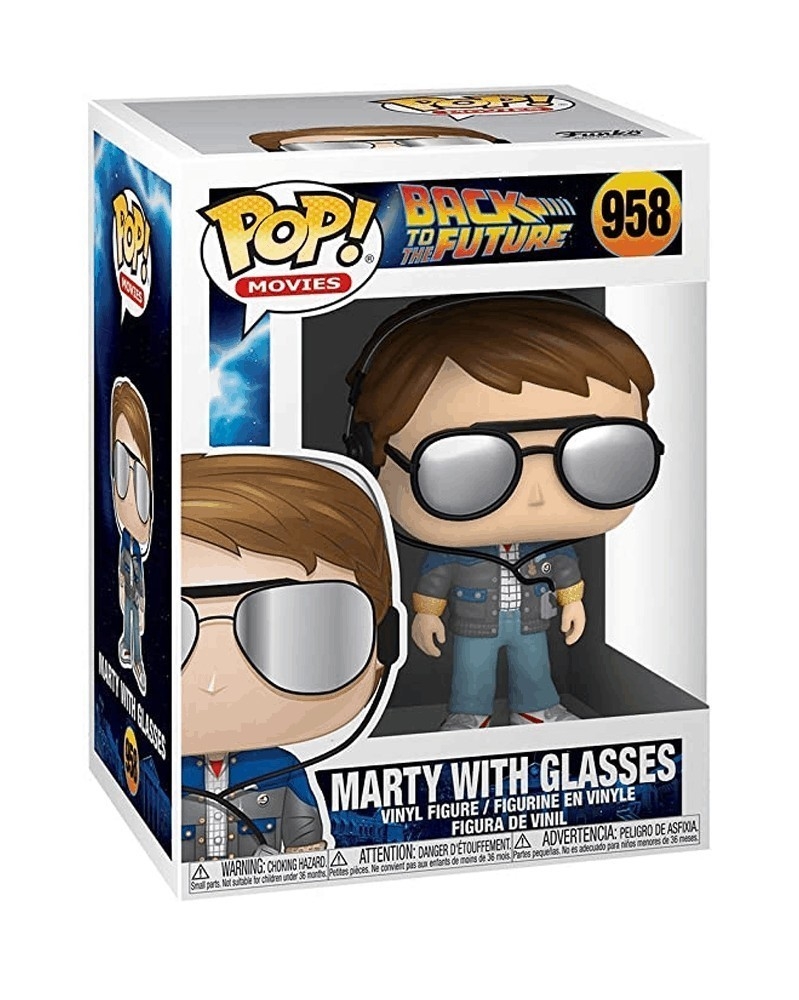 Funko POP Back To The Future - Marty with Glasses, caixa