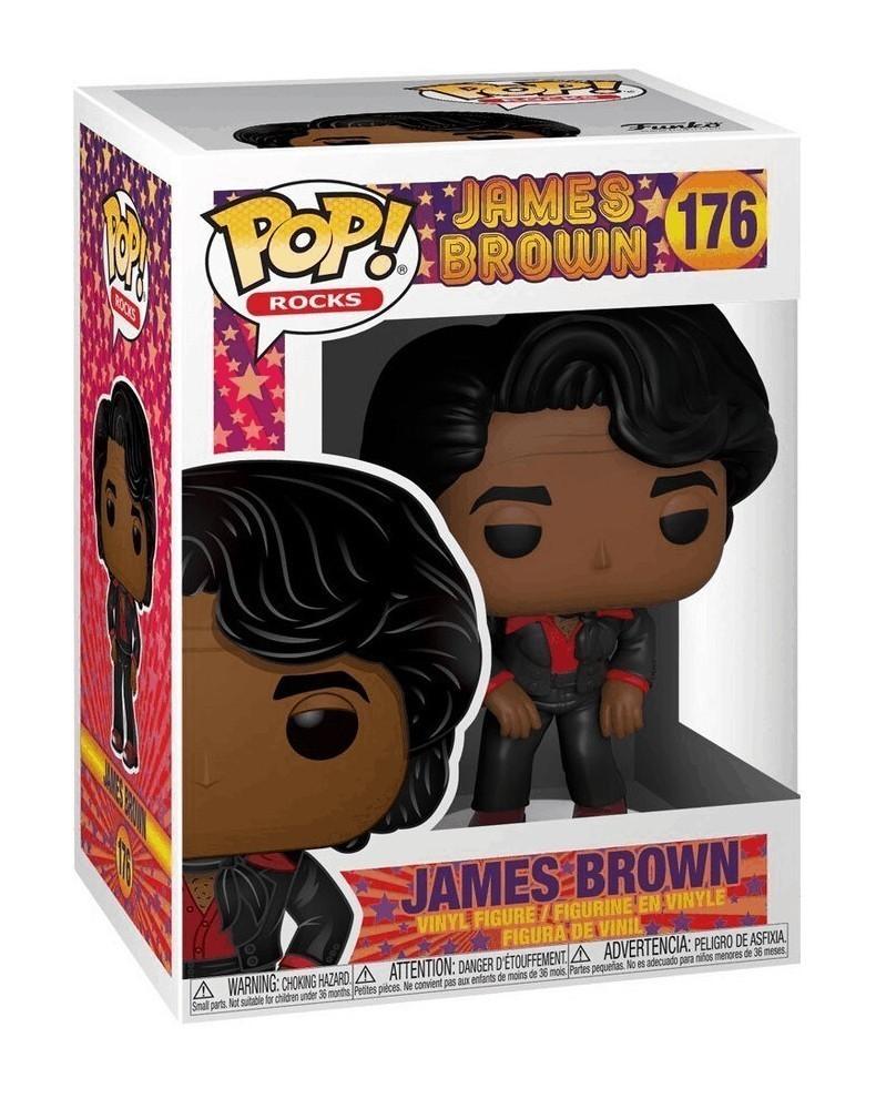 Funko POP Rocks - James Brown, caixa
