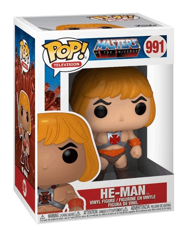 Funko POP Television - Masters of The Universe - He-Man, caixa
