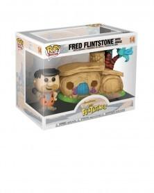 Funko POP - Flintstones - Fred Flinstone with House, caixa