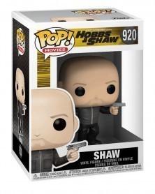 Funko POP Movies - Fast & Furious: Hobbs & Shaw - Shaw, caixa
