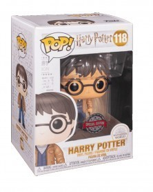 Funko POP Harry Potter - Harry Potter (with Two Wands), caixa
