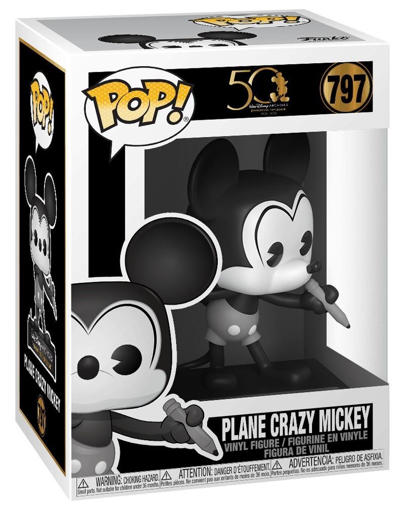 PREORDER! Funko POP Disney Archives - Plane Crazy Mickey, caixa