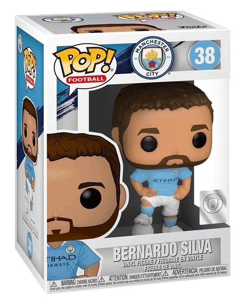 Funko POP Football - Manchester City - Bernardo Silva, caixa