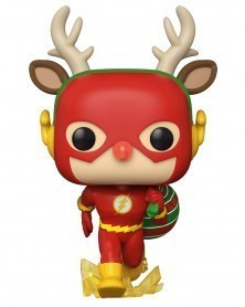 PREORDER! Funko POP DC Super Heroes - The Flash (Holiday Dash)