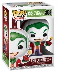 PREORDER! Funko POP DC Super Heroes - The Joker as Santa, caixa