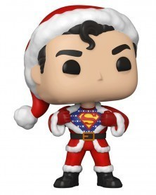 PREORDER! Funko POP DC Super Heroes - Superman in Holiday Sweater