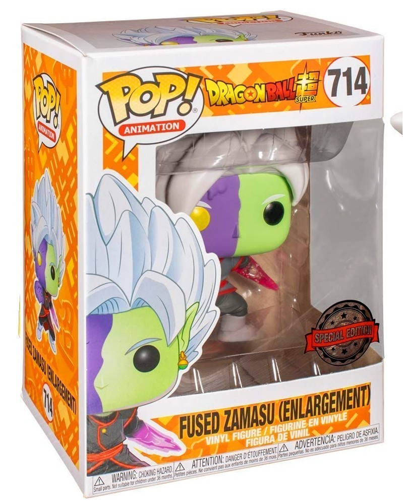 Funko POP Anime - Dragonball Super - Fused Zamasu (Enlargement), caixa