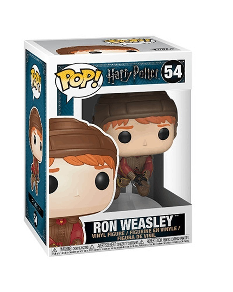 Funko POP Harry Potter - Ron Weasley on Broom, caixa