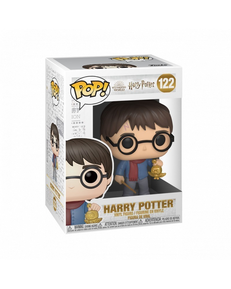 PREORDER! Funko POP Harry Potter - Harry Potter (Holiday), caixa