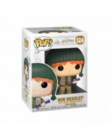 PREORDER! Funko POP Harry Potter - Ron Weasley (Holiday), caixa
