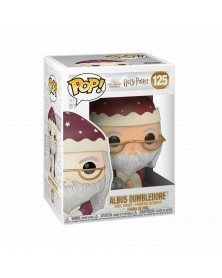 PREORDER! Funko POP Harry Potter - Albus Dumbledore (Holiday), caixa