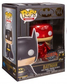 Funko POP Heroes - Batman (Red Metallic), caixa