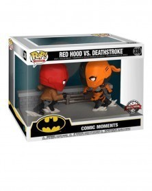 Funko POP DC Heroes - Red Hood vs. Deathstroke (PX Exclusive), caixa