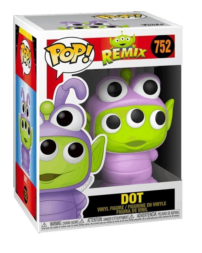Funko POP Disney - Alien Remix - Dot, caixa