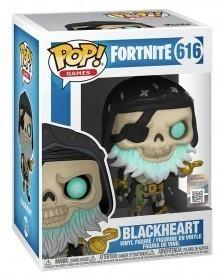 Funko POP Games - Fortnite - Blackheart, caixa
