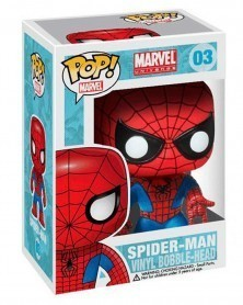 Funko POP Marvel - Spider-Man (03), caixa
