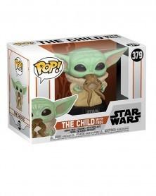 Funko POP Star Wars - Mandalorian - The Child (Baby Yoda) w/Frog, caixa