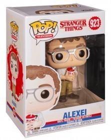 Funko POP TV- Stranger Things - Alexei, caixa