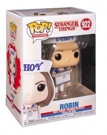 Funko POP TV - Stranger Things - Robin, caixa