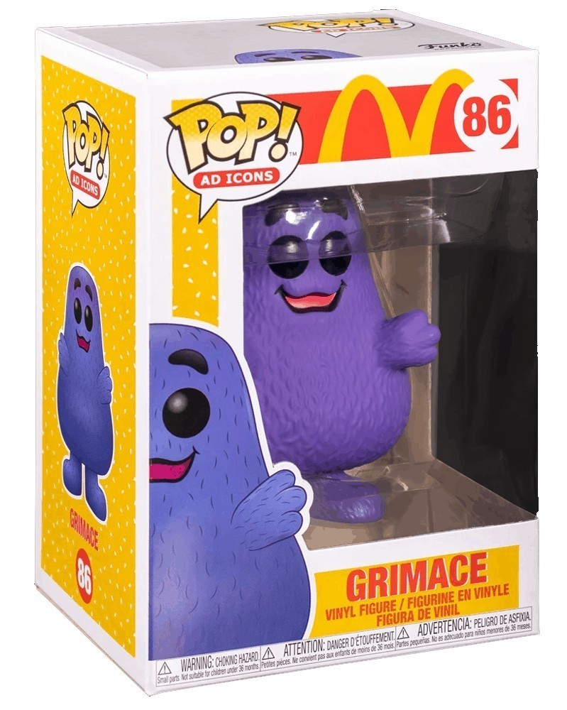 Funko POP Ad Icons - McDonald's - Grimace, caixa