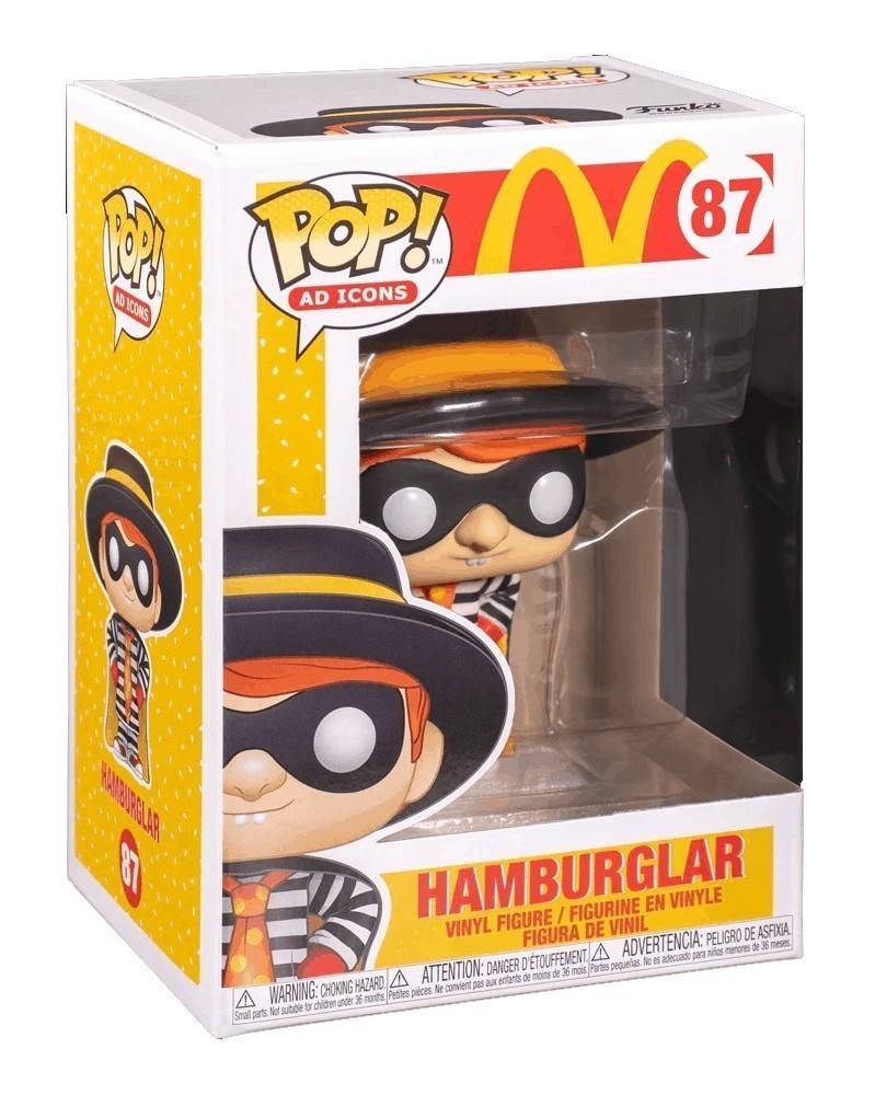 Funko POP Ad Icons - McDonald's - Hamburglar, caixa
