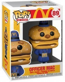 Funko POP Ad Icons - McDonald's - Officer Mac, caixa