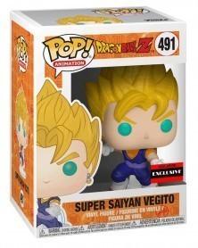 Funko POP Anime - Dragonball Z - Super Saiyan Vegito, caixa