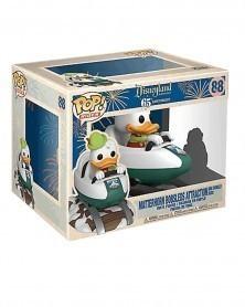 POP Disneyland 65th Anniv - Donald Duck w/Matterhorn Bobsleds Attraction, caixa