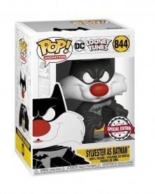 Funko POP Animation - DC Looney Toons - Sylvester as Batman, caixa