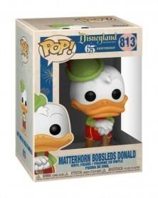 Funko POP Disneyland 65th Anniversary - Matterhorn Bobsleds Donald, caixa