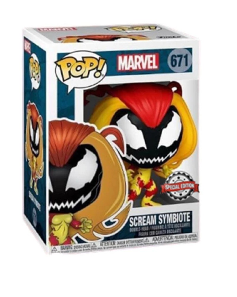 Funko POP Marvel - Scream Symbiote (Special Edition), caixa
