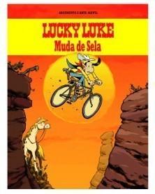 Lucky Luke Muda de Sela (Ed.Portuguesa, capa dura)