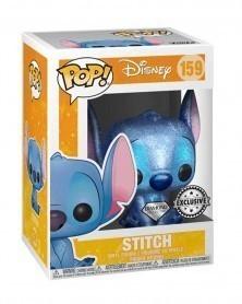 Funko POP Disney - Stitch Seated (Diamond Glitter Collection), caixa