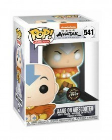 POP Animation - Avatar The Last Airbender - Aang on Airscooter (CHASE), caixa