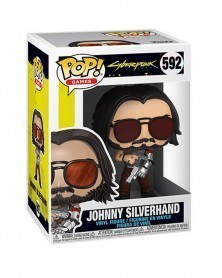 Funko POP Games - Cyberpunk 2077 - Johnny Silverhand 2, caixa