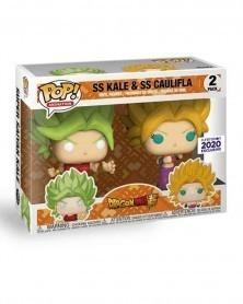 POP Anime - Dragonball Super - SS Kale & Kaulifla (Funimation Exclusive), caixa