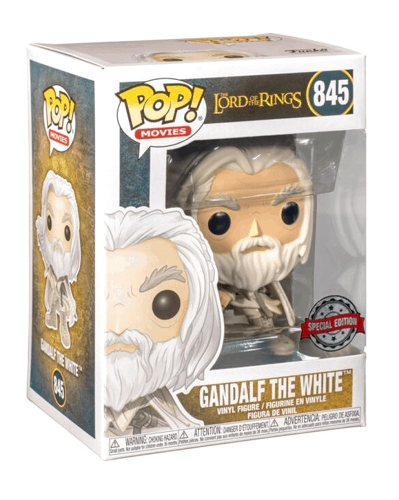 Funko POP Movies - Lord of The Rings - Gandalf The White, caixa