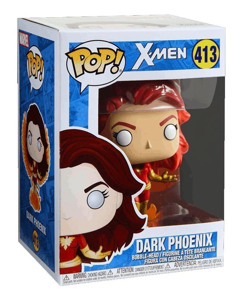 Funko POP Marvel - X-Men - Dark Phoenix (with Flames), caixa