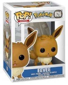 Funko POP Games - Pokémon - Eevee (Version 2 - 626), caixa
