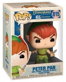 Funko POP Disneyland 65th Anniversary - Peter Pan (New Pose - 815), caixa