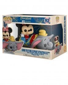 POP Disneyland 65th Anniversary - Dumbo The Flying Elephant & Minnie, caixa