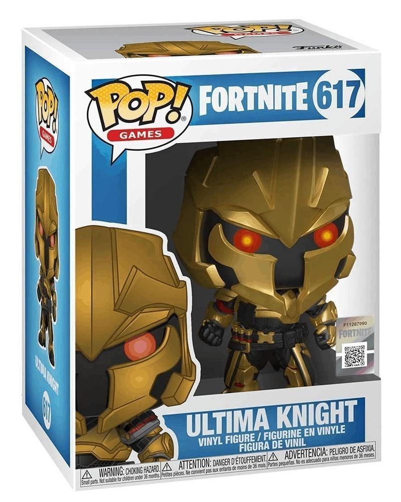 Funko POP Games - Fortnite - Ultima Knight, caixa