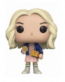 Funko POP TV - Stranger Things - Eleven with Eggos (CHASE!)